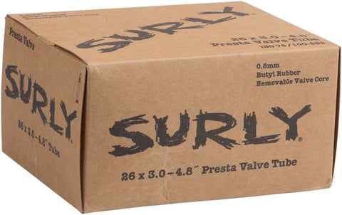 "NEW Surly Plus Fat Bike Tube: 26+, 26 x 3.0-4.8"", Presta Valve"