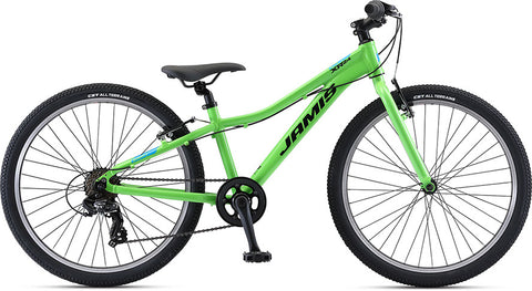 NEW 2021 Jamis XR.24 Kids Bike, Ninja Green