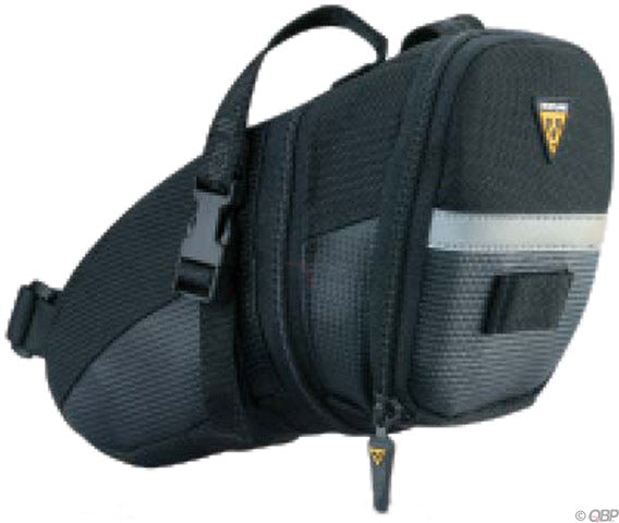 NEW Topeak Aero Wedge Seat Bag: LG, Black