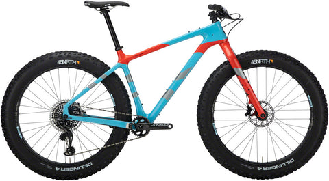 NEW Salsa Beargrease Carbon X01 Eagle - Blue Fat Bike