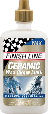 NEW Finish Line Ceramic Wax Bike Chain Lube - 4 fl oz, Drip