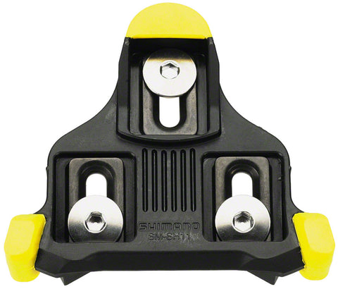 NEW Shimano SM-SH11 Cleat 6° Float Yellow, Pair