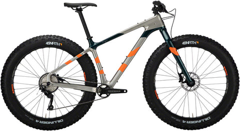 NEW Salsa Beargrease Carbon SX Eagle - Silver Fat Bike