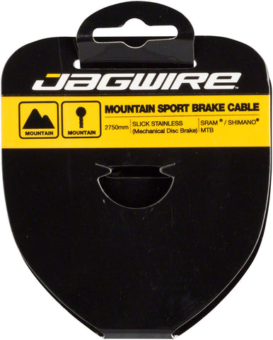 NEW Jagwire Sport Brake Cable Slick Stainless 1.5x3500mm SRAM/Shimano Mountain Tandem