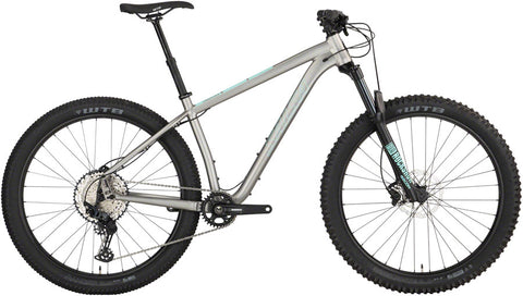 NEW Salsa Timberjack SLX 27.5+ - Silver Mountain Bike