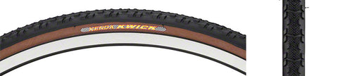 NEW Kenda Kwick Tire 700x30c Steel Bead Black/Mocha