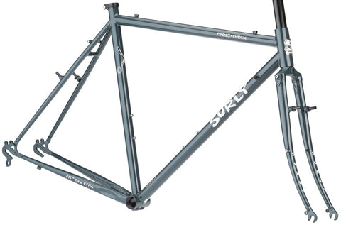 NEW Surly Cross-Check Frameset - BlueGreenGray Cyclocross Frame