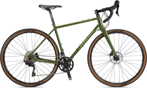 NEW 2021 Jamis Renegade S3 Steel Gravel Bike Mash Green Disc
