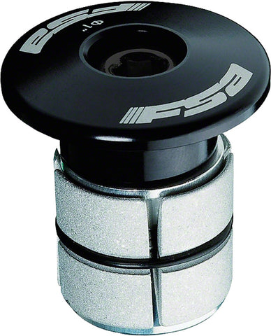 "NEW FSA Compressor 1"" Black Expander Plug and Top Cap"