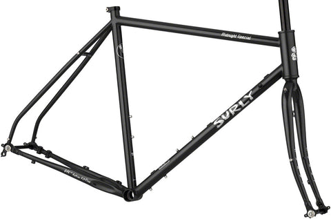 NEW Surly Midnight Special Frameset - Black Road Frame