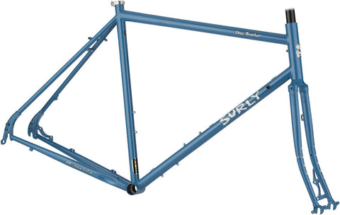 "NEW Surly Disc Trucker 26"" Brilliant Blue Touring Frame"