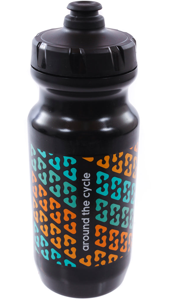 ATC Rainbow Tread Water Bottle 21oz Black
