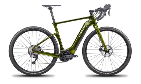 NEW Niner RLT e9 RDO 4-STAR Gravel E-Bike  - 50cm - ELECTRIC MOSS