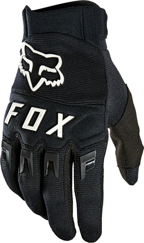 NEW Fox Racing Dirtpaw Gloves - Black/White, Full Finger, Men's