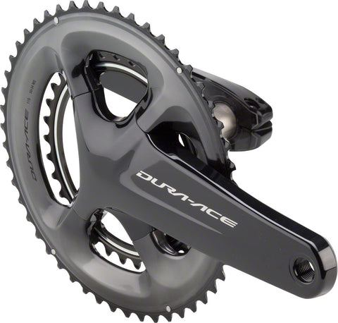 NEW Shimano Dura-Ace FC-R9100 Crankset - 170mm, 11-Speed, 50/34t, 110 Asymmetric BCD, Hollowtech II Spindle Interface, Black