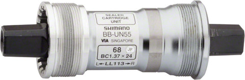 NEW Shimano UN55 70 x 122.5mm Square Taper Italian Bottom Bracket