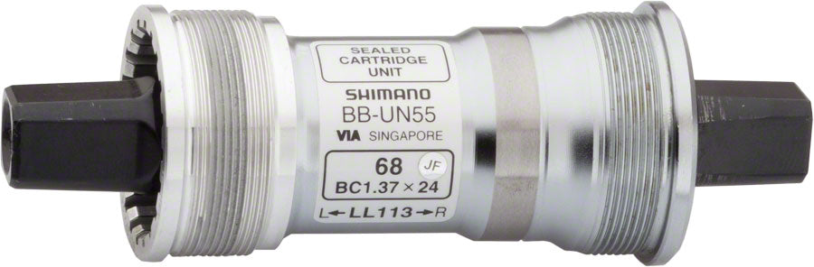 NEW Shimano BB-UN55 Cartridge BB JIS Square Taper 73x110mm