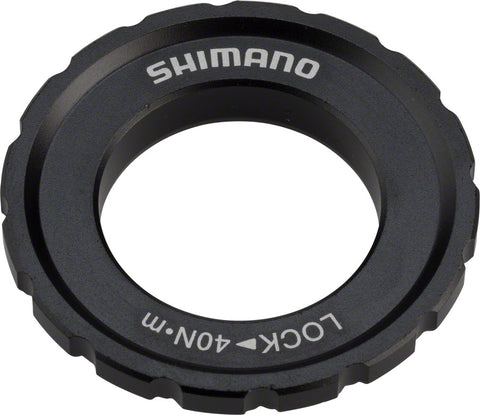 NEW Shimano XT M8010 Outer Serration Centerlock Disc Rotor Lockring, for use with 12/15/20mm Axle Hubs