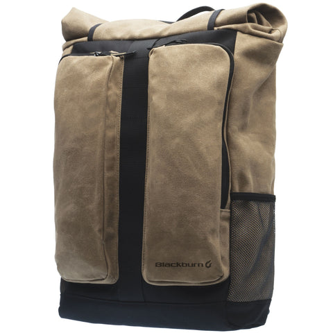 NEW Blackburn Wayside Backpack & Pannier - Black/Tan