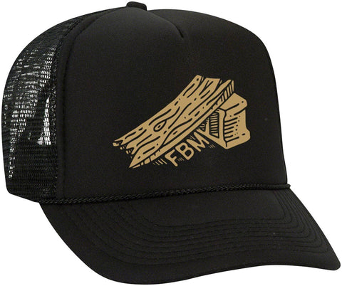 NEW FBM Ramp Mesh Hat: Black, One Size