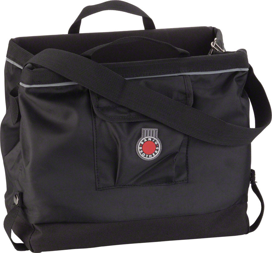 NEW Banjo Brothers Grocery Pannier: Black, Each