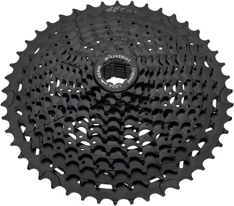 NEW microSHIFT H11 Cassette - 11 Speed, 11-42t, Black, ED Coated