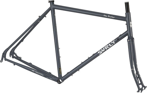 NEW Surly Disc Trucker 700c Bituminous Gray Touring Frame