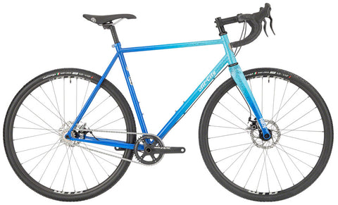 NEW All-City Nature Cross Single Speed - Propane Flame Cyclocross Bike