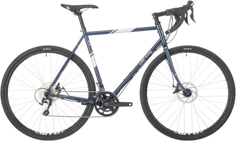 NEW 2021 All-City Space Horse Steel All-Road Bike, Neptune Blue