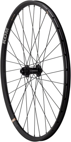 NEW Quality Wheels WTB Front Wheel - 650b, 12 x 100mm, Center-Lock, Black