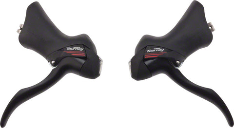 NEW Shimano Tourney ST-A073 7-Speed Triple STI Lever Set