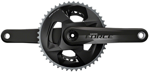 NEW SRAM Force AXS Crankset - 172.5mm, 12-Speed, 46/33t, 107 BCD, DUB Spindle Interface, Natural Carbon, D1