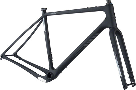 NEW Salsa Warbird Carbon Frameset - Black All-Road Frame