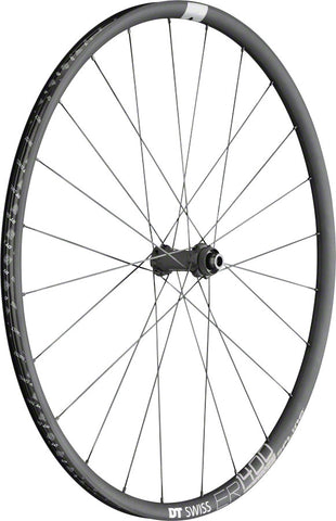 NEW DT Swiss ER 1400 Spline Front Wheel - 700, 12/15/QR x 100mm, 6-Bolt/Center-Lock, Black