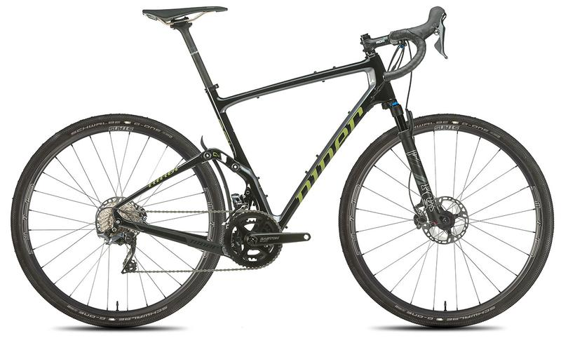 NEW 2020 Niner MCR 9 RDO Full Suspension Gravel Bike, 5-STAR SHIMANO GRX 800 2X, Black/Magnetic Grey