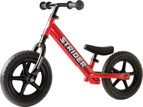 NEW Strider 12 Classic Kids Balance Bike: Red