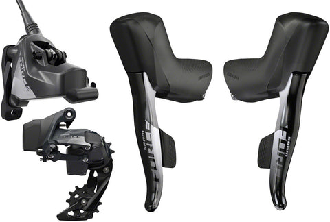 NEW SRAM Force eTap AXS Electronic Road Groupset - 1x, 12-Speed, HRD Brake/Shift Levers, Flat Mount Disc Calipers, Rear Derailleur, D1