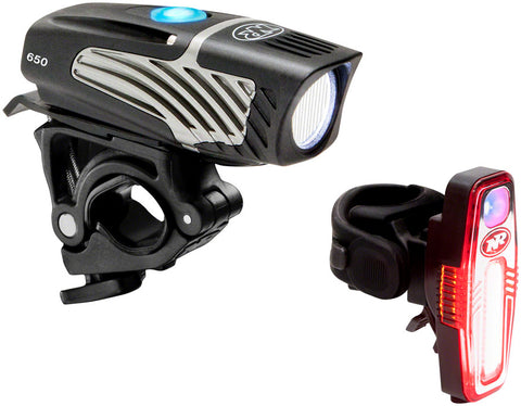 NEW NiteRider Lumina Micro 650 and Sabre 80 Headlight and Taillight Set