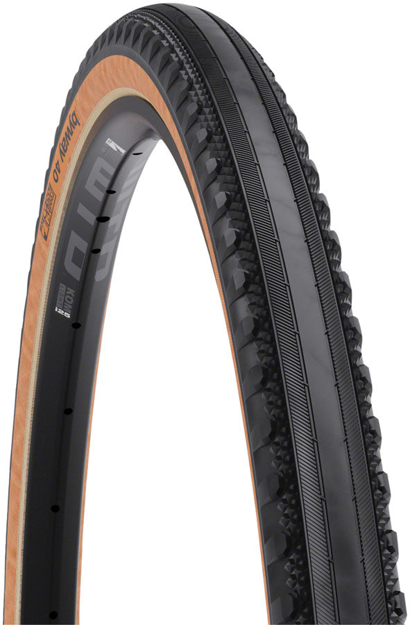 NEW WTB Byway Tire - 700 x 40, TCS Tubeless, Folding, Black/Tan