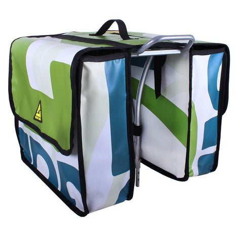UPCYCLED Green Guru Double Dutch Dual Pannier Set