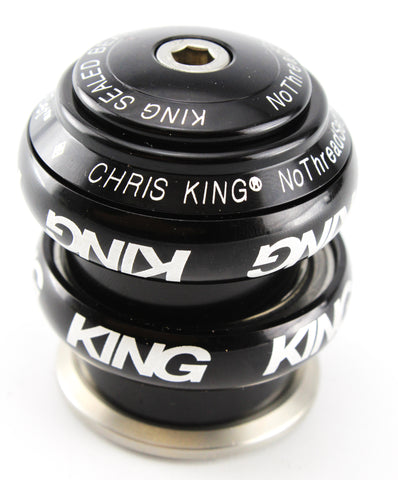 "NEW (out of box) Chris King 1-1/8"" Threadless Headset Black Anodized Aluminum"