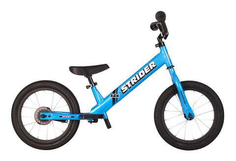 NEW Strider 14x Sport Balance Bike Blue
