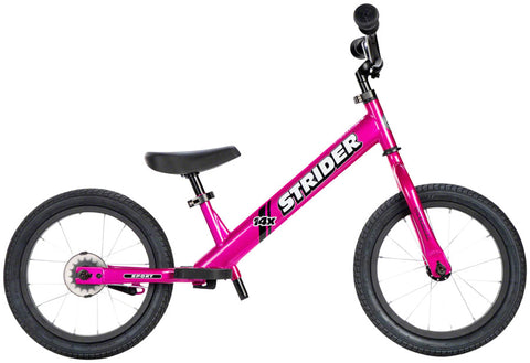 NEW Strider 14x Sport Balance Bike Fuschia