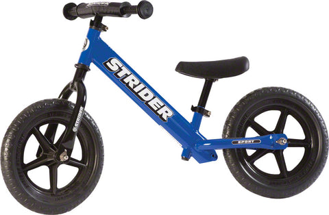 NEW Strider 12 Sport Kids Balance Bike: Blue