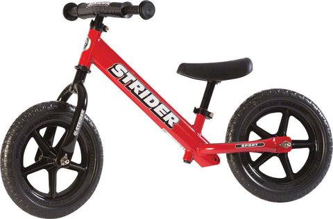 NEW Strider 12 Sport Kids Balance Bike: Red