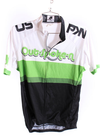 USED Champion Systems Outspoken Cycling Kit Large Jersey Med. Bibs Arm Warmers