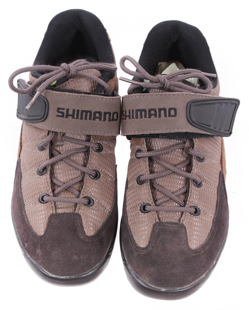 USED Shimano SH-M038W Women's Mountain Cycling Shoes Size 39EU 6 US Lace