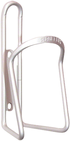 NEW Planet Bike Alloy 6.2mm Water Bottle Cage: Silver