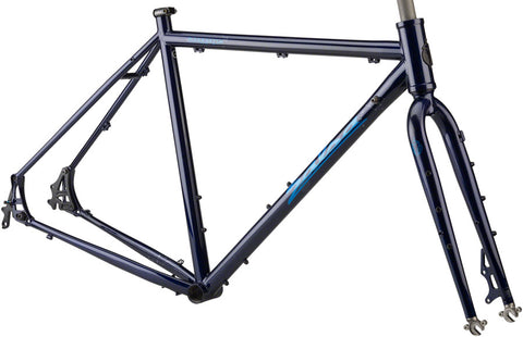 NEW Salsa Marrakesh Drop Bar Frame Dark Blue Touring Frame