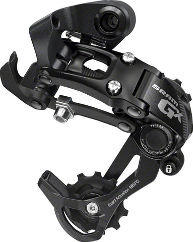 NEW SRAM GX Rear Derailleur - 10 Speed, Long Cage, Black